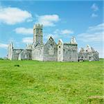 Ross Errilly Priory, County Galway, Ireland Stock Photo - Royalty-Free, Artist: phbcz                         , Code: 400-05387286