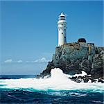 lighthouse, Fastnet Rock, County Cork, Ireland Stock Photo - Royalty-Free, Artist: phbcz                         , Code: 400-05387313