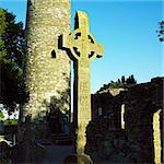 Monasterboice, County Louth, Ireland Stock Photo - Royalty-Free, Artist: phbcz                         , Code: 400-05387353