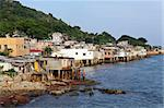 fishing village of Lei Yue Mun in Hong Kong Stock Photo - Royalty-Free, Artist: leungchopan                   , Code: 400-05388017