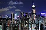 Hong Kong at night Stock Photo - Royalty-Free, Artist: leungchopan                   , Code: 400-05388113
