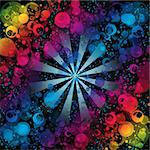 Beautiful  and colorful abstract background