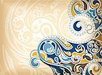 Illustration of abstract curve background. Stock Photo - Royalty-Free, Artist: billyphoto2008                , Code: 400-05388952