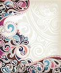 Illustration of abstract curve background. Stock Photo - Royalty-Free, Artist: billyphoto2008                , Code: 400-05388953