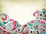 Illustration of abstract curve background. Stock Photo - Royalty-Free, Artist: billyphoto2008                , Code: 400-05388957
