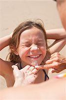 Girl on Beach, Camaret-sur-Mer, Finistere, Bretagne, France Stock Photo - Premium Royalty-Freenull, Code: 600-05389211