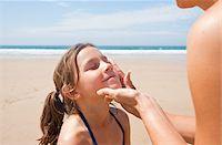 Girl on Beach, Camaret-sur-Mer, Finistere, Bretagne, France Stock Photo - Premium Royalty-Freenull, Code: 600-05389212