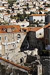 Ruins and Old City, Dubrovnik, Croatia Stock Photo - Premium Rights-Managed, Artist: John Cullen, Code: 700-05389357
