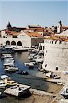 Boats in Harbour, Old City, Dubrovnik, Croatia Stock Photo - Premium Rights-Managed, Artist: John Cullen, Code: 700-05389361