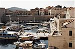 Boats in Harbour, Old City, Dubrovnik, Croatia Stock Photo - Premium Rights-Managed, Artist: John Cullen, Code: 700-05389362