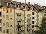 Apartment Building, Zurich, Switzerland Stock Photo - Premium Rights-Managed, Artist: Svenja Kaufmann, Code: 700-05389532