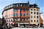 Restaurants and Cafes, Gamla Stan, Stockholm, Sweden Stock Photo - Premium Rights-Managed, Artist: Siephoto, Code: 700-05389555