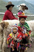 south american woman - Peru, Pisac, children in a traditional costume Stock Photo - Premium Royalty-Freenull, Code: 610-05392758