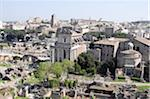 Rome Forum From Above Stock Photo - Premium Royalty-Free, Artist: Siephoto, Code: 6106-05402565