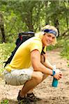 Young male hiker Stock Photo - Premium Royalty-Freenull, Code: 6106-05405060