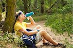 Young male hiker Stock Photo - Premium Royalty-Freenull, Code: 6106-05405061