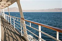 View from a cruise ship deck Stock Photo - Premium Royalty-Freenull, Code: 6106-05405198