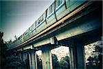 BART Train on Elevated Track Stock Photo - Premium Royalty-Free, Artist: Arcaid, Code: 6106-05405278