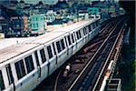 BART Train on Elevated Track Stock Photo - Premium Royalty-Free, Artist: Arcaid, Code: 6106-05405283