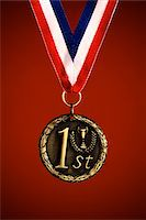 First Place Medal Stock Photo - Premium Royalty-Freenull, Code: 6106-05406561