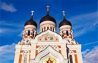 Exterior of the Alexander Nevsky cathedral. Stock Photo - Premium Royalty-Freenull, Code: 6106-05406952