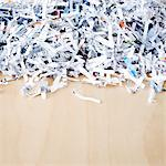 Shredded paper Stock Photo - Premium Royalty-Free, Artist: Mark Wiens, Code: 6106-05408000