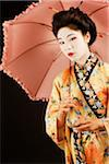 Geisha standing Stock Photo - Premium Royalty-Free, Artist: Axiom Photographic       , Code: 6106-05408412