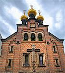Russian Orthodox church, Copenhagen, Denmark Stock Photo - Premium Royalty-Freenull, Code: 6106-05412720