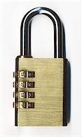 closed padlock Stock Photo - Premium Royalty-Freenull, Code: 6106-05413875