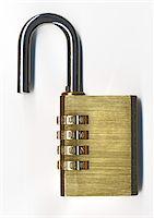 open padlock Stock Photo - Premium Royalty-Freenull, Code: 6106-05413876