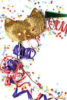 streamer - Party decoration Stock Photo - Premium Royalty-Freenull, Code: 6106-05417998