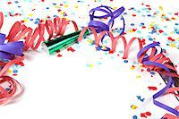 streamer - Party decoration Stock Photo - Premium Royalty-Freenull, Code: 6106-05418004