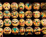 Tet (Vietnamese lunar new year) masks Stock Photo - Premium Royalty-Free, Artist: Robert Harding Images, Code: 6106-05421310