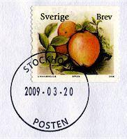 stamped - Postage stamp Stock Photo - Premium Royalty-Freenull, Code: 6106-05421637
