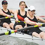Female Rowing Crew Stock Photo - Premium Royalty-Freenull, Code: 6106-05422776