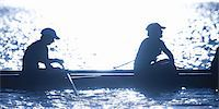 sport rowing teamwork - Female Rowers Taking  Break During Practice Stock Photo - Premium Royalty-Freenull, Code: 6106-05422778