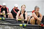 Female Rowing Crew At Practice Stock Photo - Premium Royalty-Freenull, Code: 6106-05422779