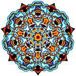 Symmetrical Abstract Design (Mandala) Stock Photo - Premium Royalty-Free, Artist: Robert Harding Images, Code: 6106-05423254