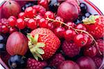 Mixed berries Stock Photo - Premium Royalty-Free, Artist: Photocuisine, Code: 6106-05432329
