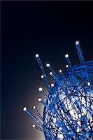 fiber optics nobody - gather up the fiber optics Stock Photo - Premium Royalty-Freenull, Code: 6106-05433437