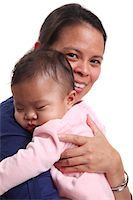 filipina - Mother and baby child Stock Photo - Premium Royalty-Freenull, Code: 6106-05434495