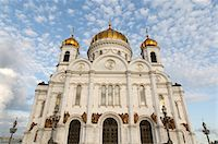 Cathedral of Christ the Saviour -low angle view Stock Photo - Premium Royalty-Freenull, Code: 6106-05434502