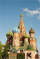 Cathedral of Saint Basil the Blessed in Moscow Stock Photo - Premium Royalty-Freenull, Code: 6106-05435146