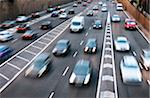 Rush hour traffic in Birmingham Stock Photo - Premium Royalty-Free, Artist: CulturaRM, Code: 6106-05437937