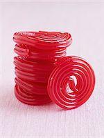Strawberry Licorice Stock Photo - Premium Royalty-Freenull, Code: 6106-05439809