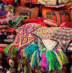 Pisac Market, Pisac, Peru Stock Photo - Premium Royalty-Freenull, Code: 6106-05440593