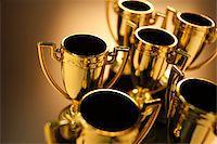 Trophies Stock Photo - Premium Royalty-Freenull, Code: 6106-05442724