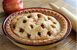 Apple Pie in Natural Light Stock Photo - Premium Royalty-Free, Artist: Photocuisine, Code: 6106-05444285