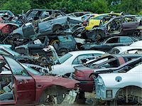 Junk yard Stock Photo - Premium Royalty-Freenull, Code: 6106-05447667