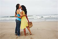 Couple Kissing on Beach Stock Photo - Premium Rights-Managednull, Code: 700-05451037
